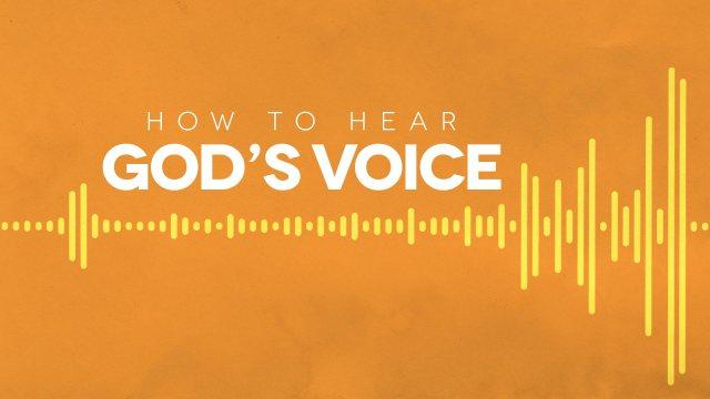 How to hear God